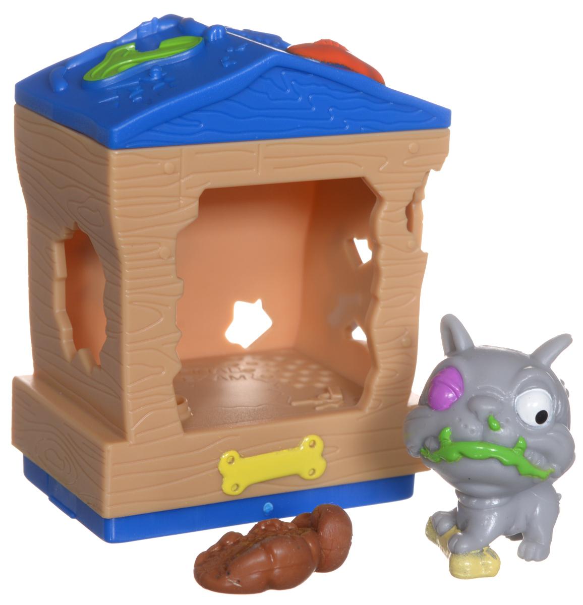 Ugglys Pet Shop Игровой набор Домик с фигуркой Mutt Hut набор игровой jakks pacific домик с фигуркой смурфика