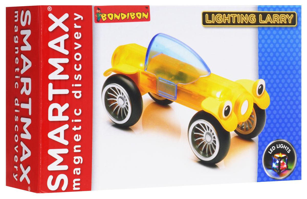 Bondibon Конструктор магнитный Smartmax Светящийся Ларри цвет желтый bondibon конструктор магнитный smartmax светящийся ларри цвет желтый
