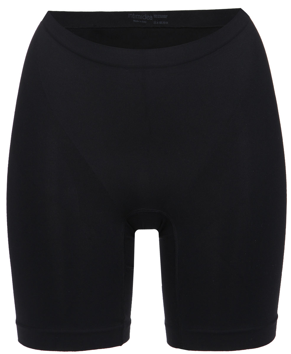 Купить Трусы-шорты женские корректирующие Intimidea Silhouette, цвет: черный. 410135_Nero. Размер L/XL (48/50)