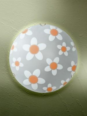Светильник настенно-потолочный Vitaluce, 1 х Е27, 100 ВтV6015/1AНастенный светильник Vitaluce, изготовленный из высококачественных материалов, предназначен для любителей утонченного интерьера. Изделие подойдет для любого небольшого помещения, а также ванной комнаты или прихожей.К светильнику предусмотрен цоколь Е27 для лампы мощностью 100 Вт.