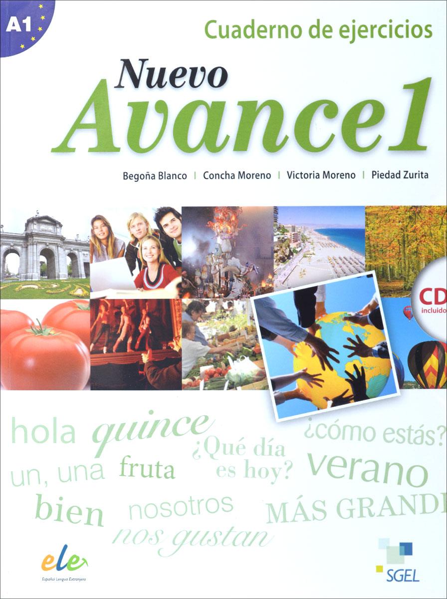 Nuevo avance 1: Cuaderno de ejercicios A1 (+ CD) nuevo avance 3 cuaderno de ejercicios b1 1 cd