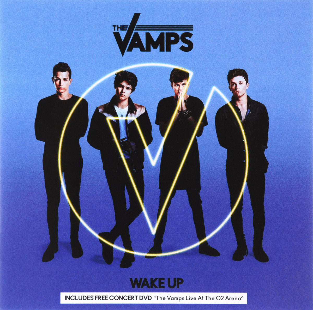 The Vamps The Vamps. Wake Up (CD + DVD) the vamps leeds