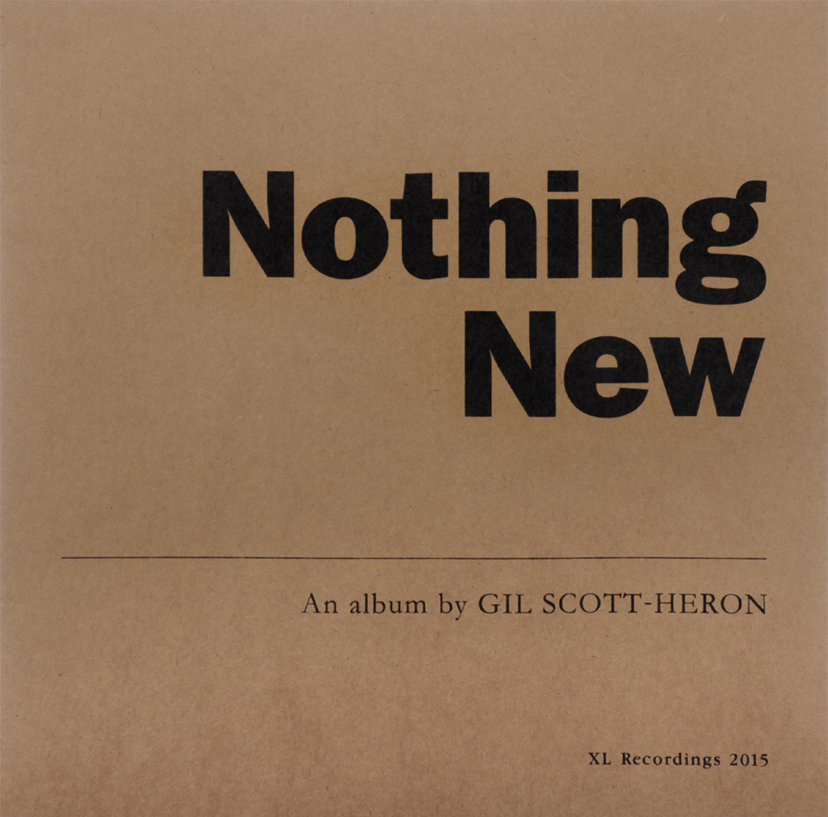Gil Scott-Heron. Nothing New (LP + DVD)