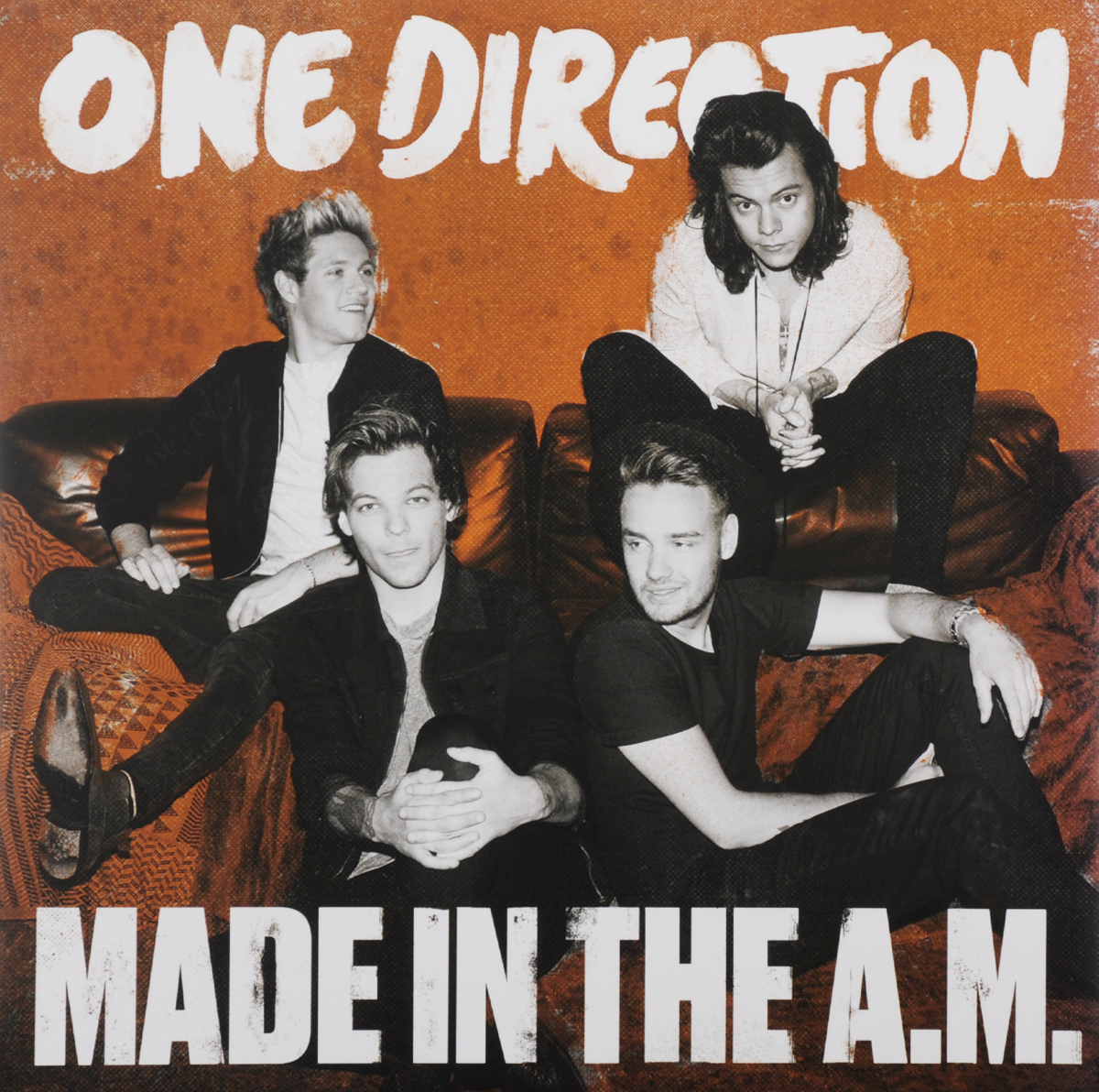 One Direction One Direction. Made In The A.M. (2 LP) тетрадь на скрепке printio one direction made in the am