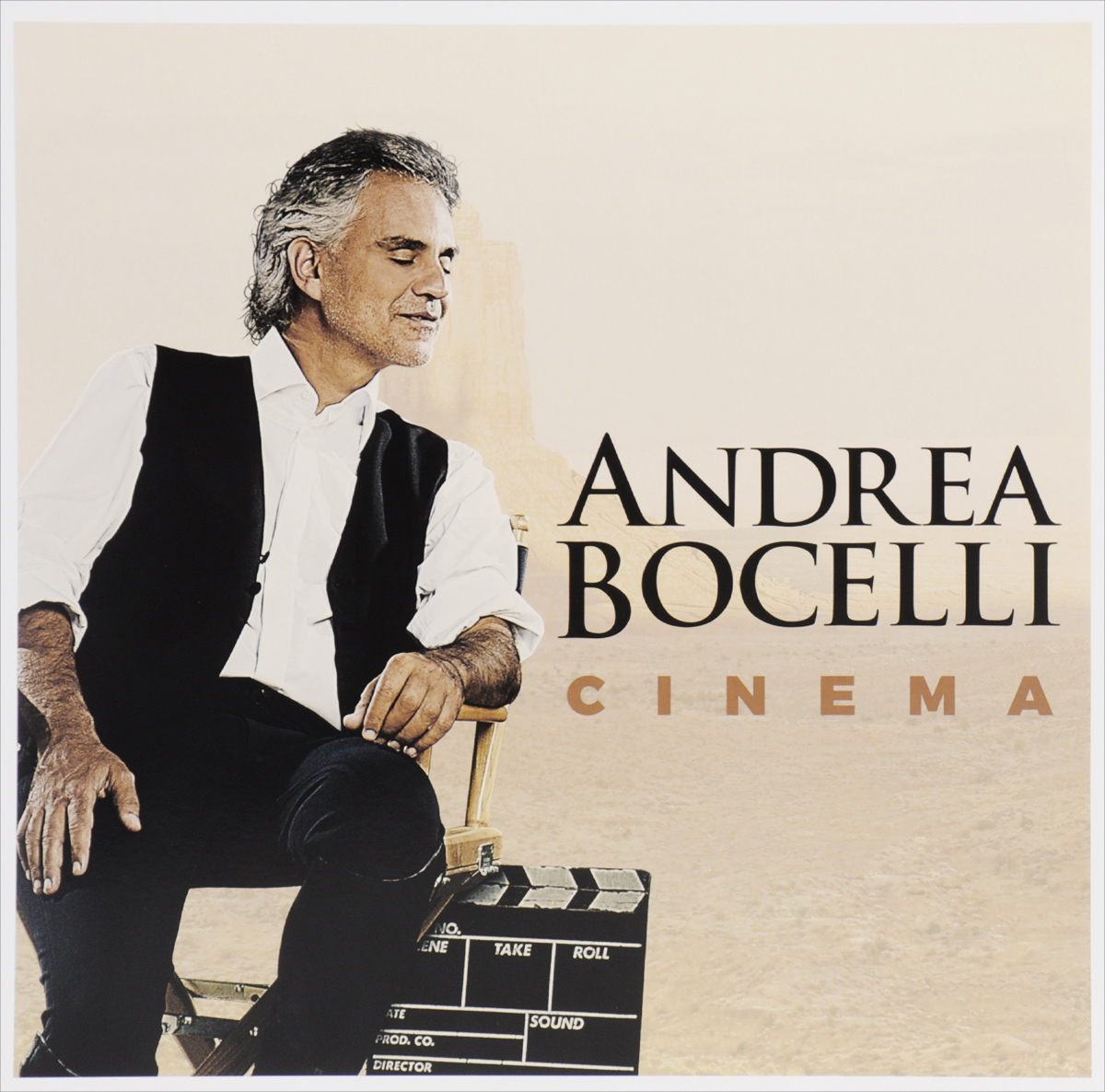 Андреа Бочелли Andrea Bocelli. Cinema. Limited Edition (2 LP)