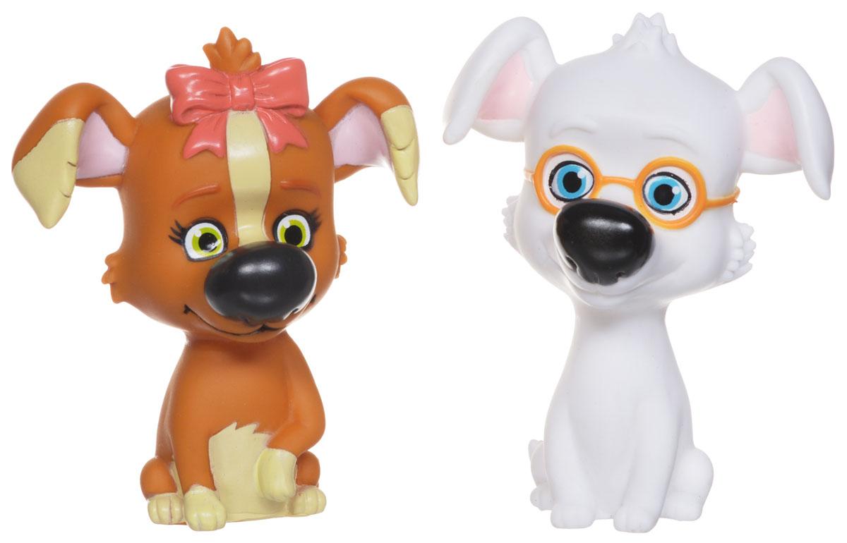 Белка и Стрелка Набор игрушек для ванной Рекс и Дина