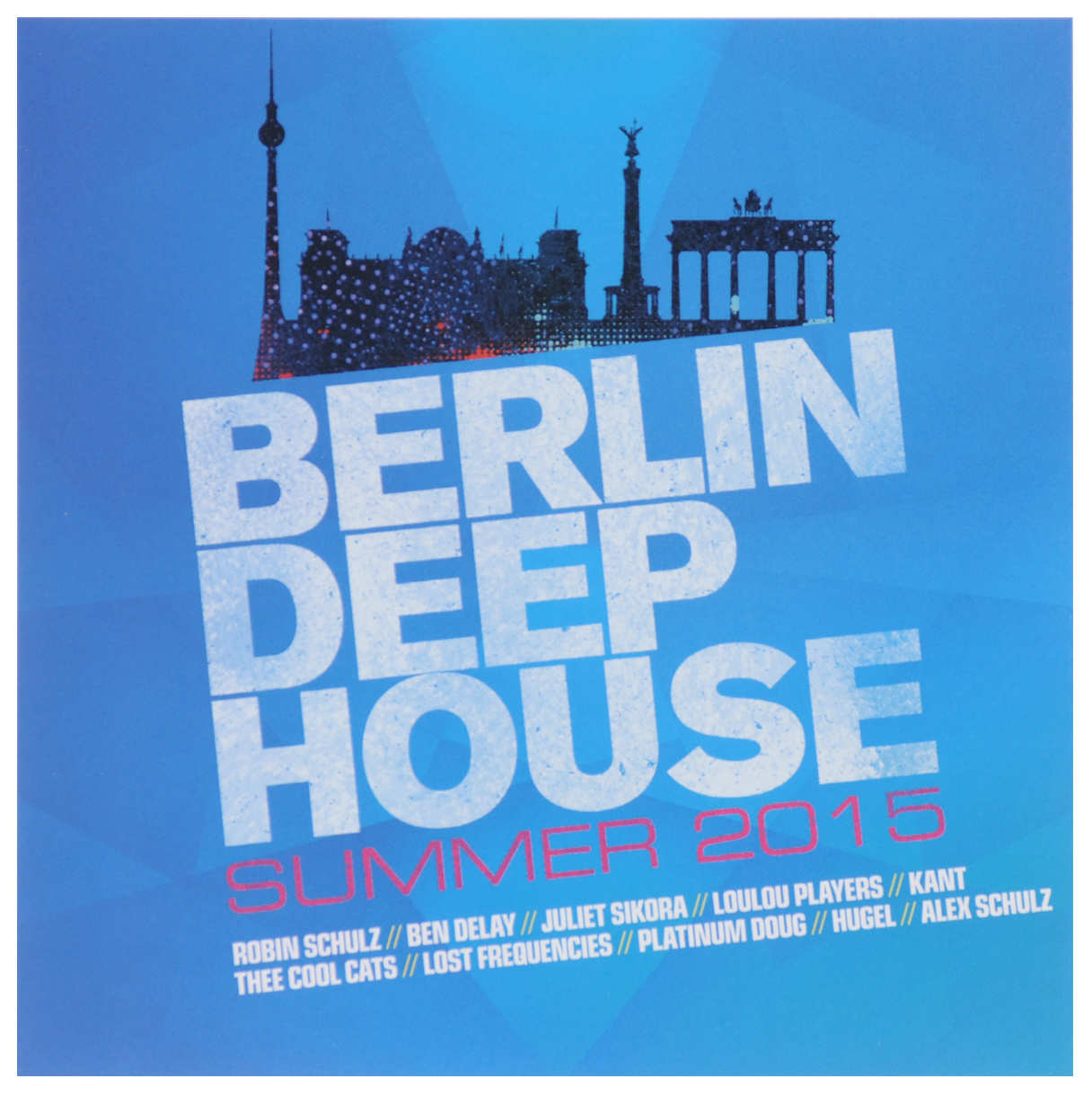 Berlin Deep House. Summer 2015 (2 CD)