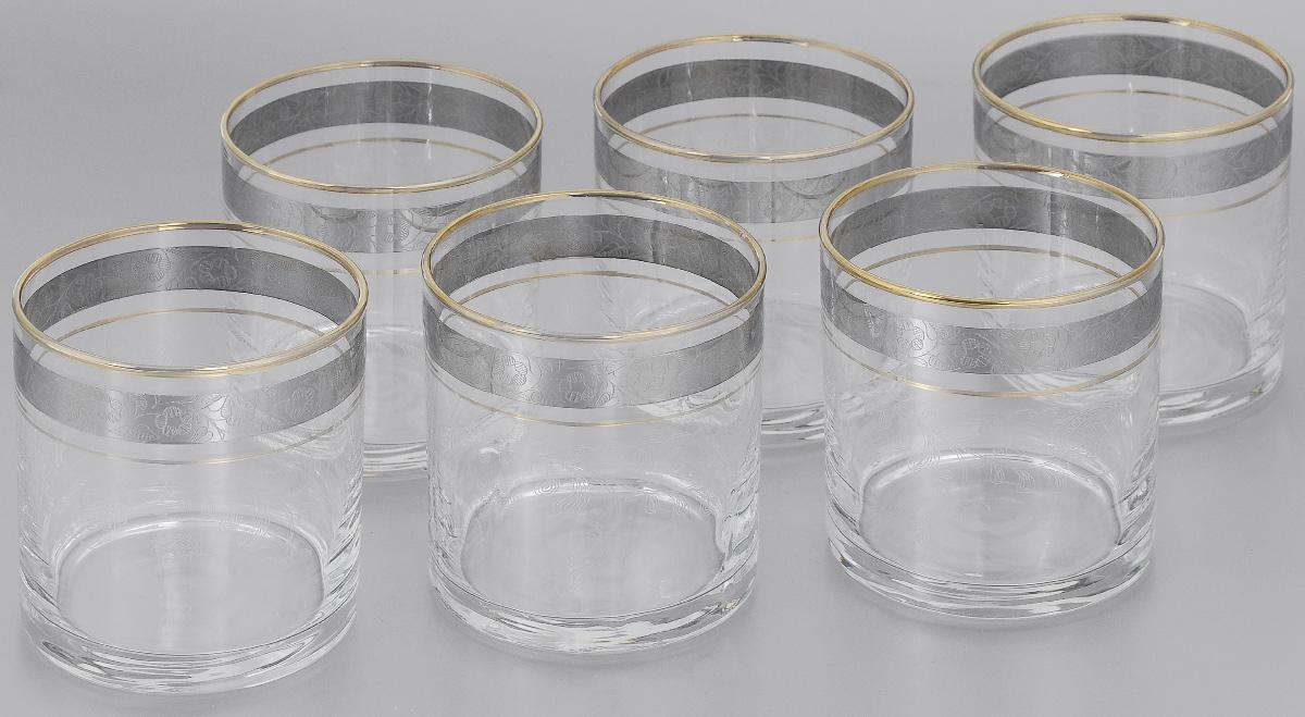 Набор стаканов для виски Гусь-Хрустальный Нежность, 300 мл, 6 шт набор бокалов для бренди гусь хрустальный нежность 410 мл 6 шт
