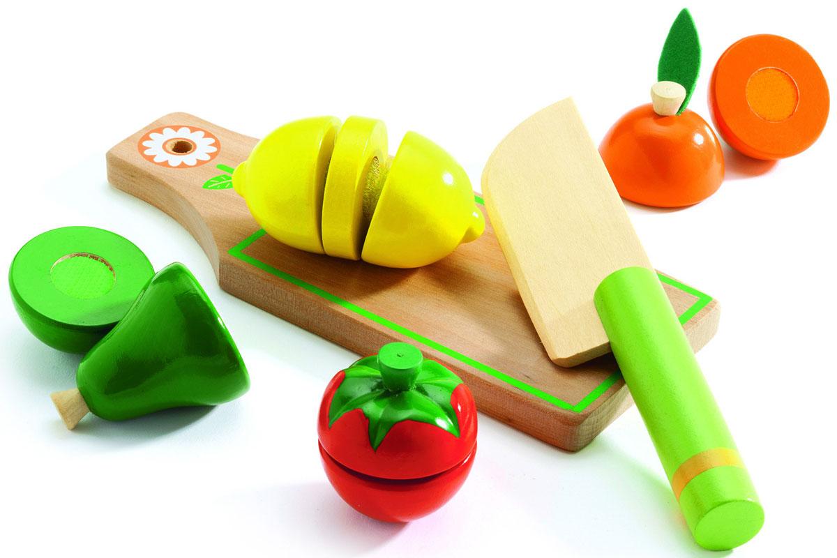 Djeco Игровой набор Фрукты и овощи - Сюжетно-ролевые игрушки