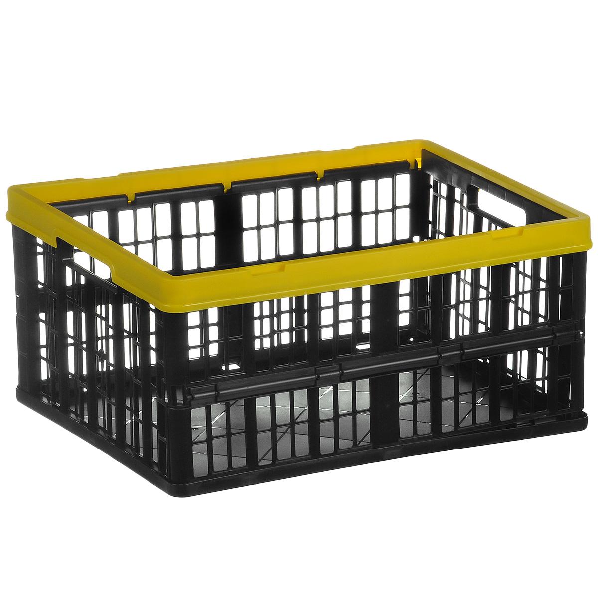 Ящик складной Бытпласт, с перфорированными стенками, 48 см х 35 см х 23 смС12282Складной ящик Бытпласт выполнен из пластикаи предназначен для хранения различныхпредметов. Ящик оснащен перфорированнымистенками. Он быстро складывается ираскладывается. В сложенном виде занимаетминимум места. Очень удобный и вместительный, такой ящикбудет очень полезен для хранения вещей илипродуктов.Размер в сложенном виде: 48см x 35 см x 5,5 см;Размер в разложенномвиде: 48 см х 35 см х 23 см.