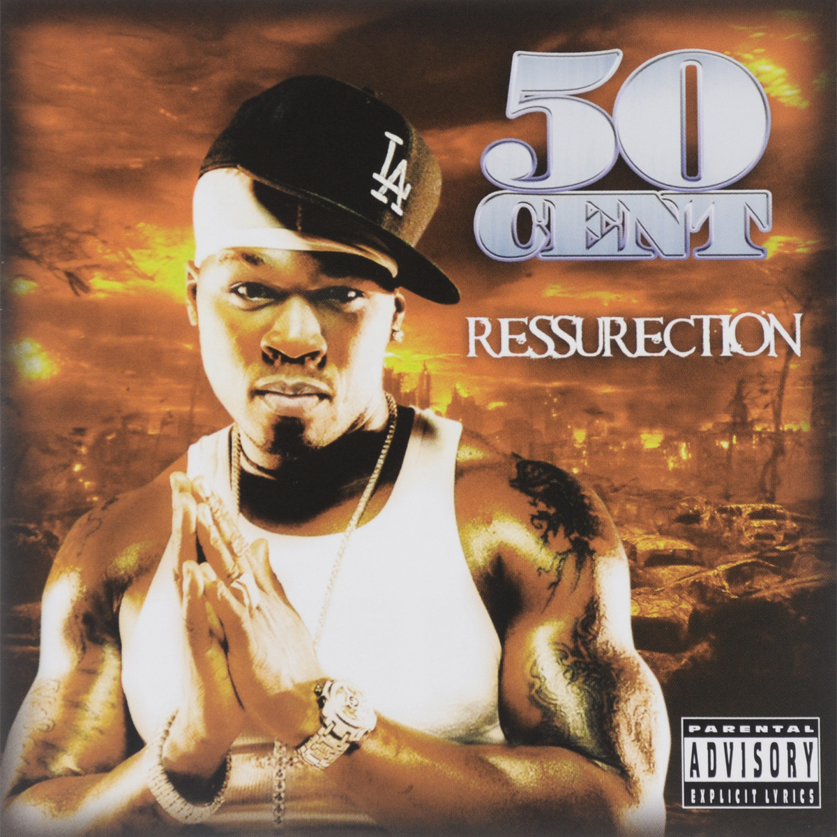 50 Cent 50 Cent. Ressurection худи print bar 50 cent