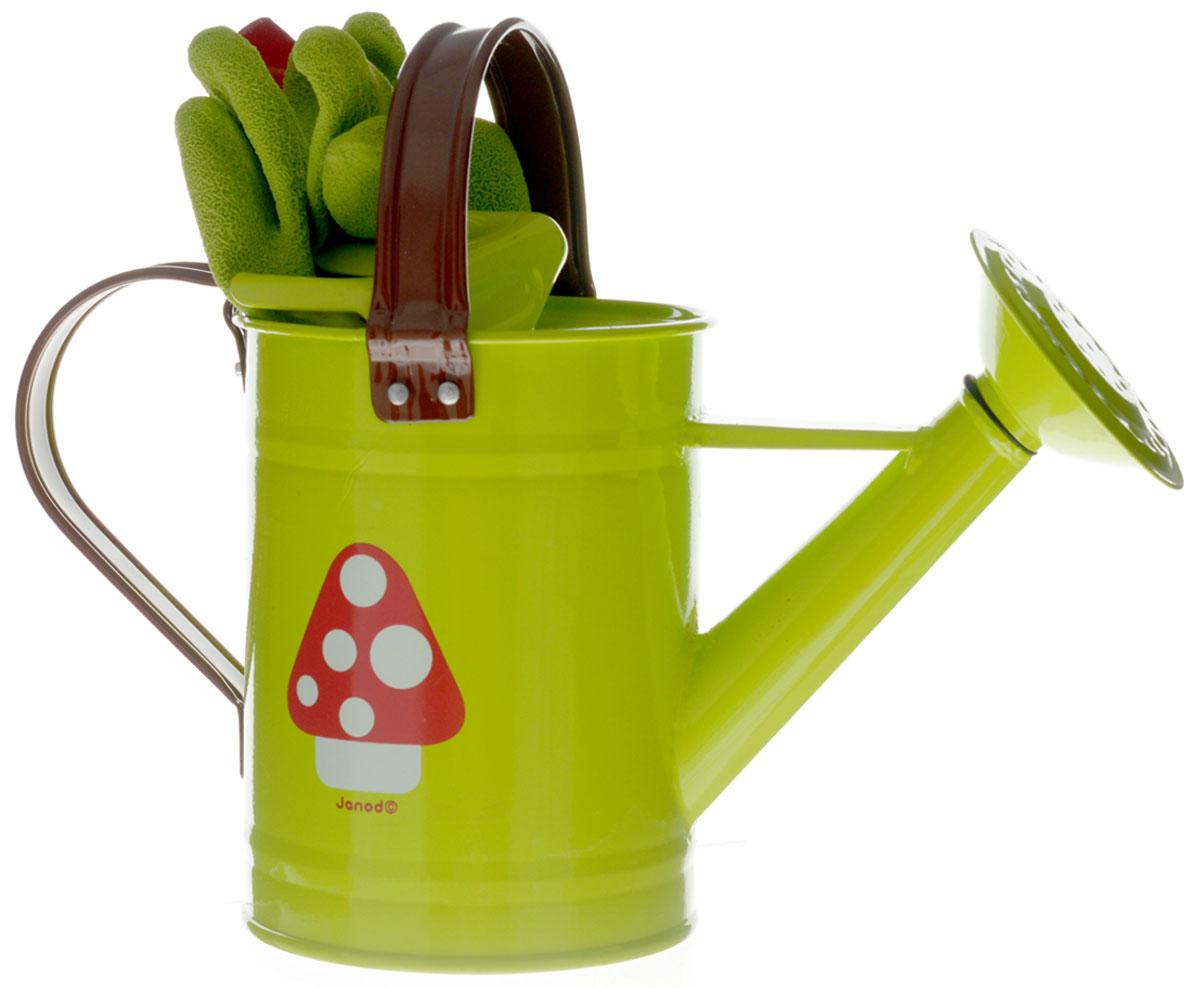 Janod Игровой набор Маленький садовник цвет зеленый janod в квадратном чемоданчике пилот
