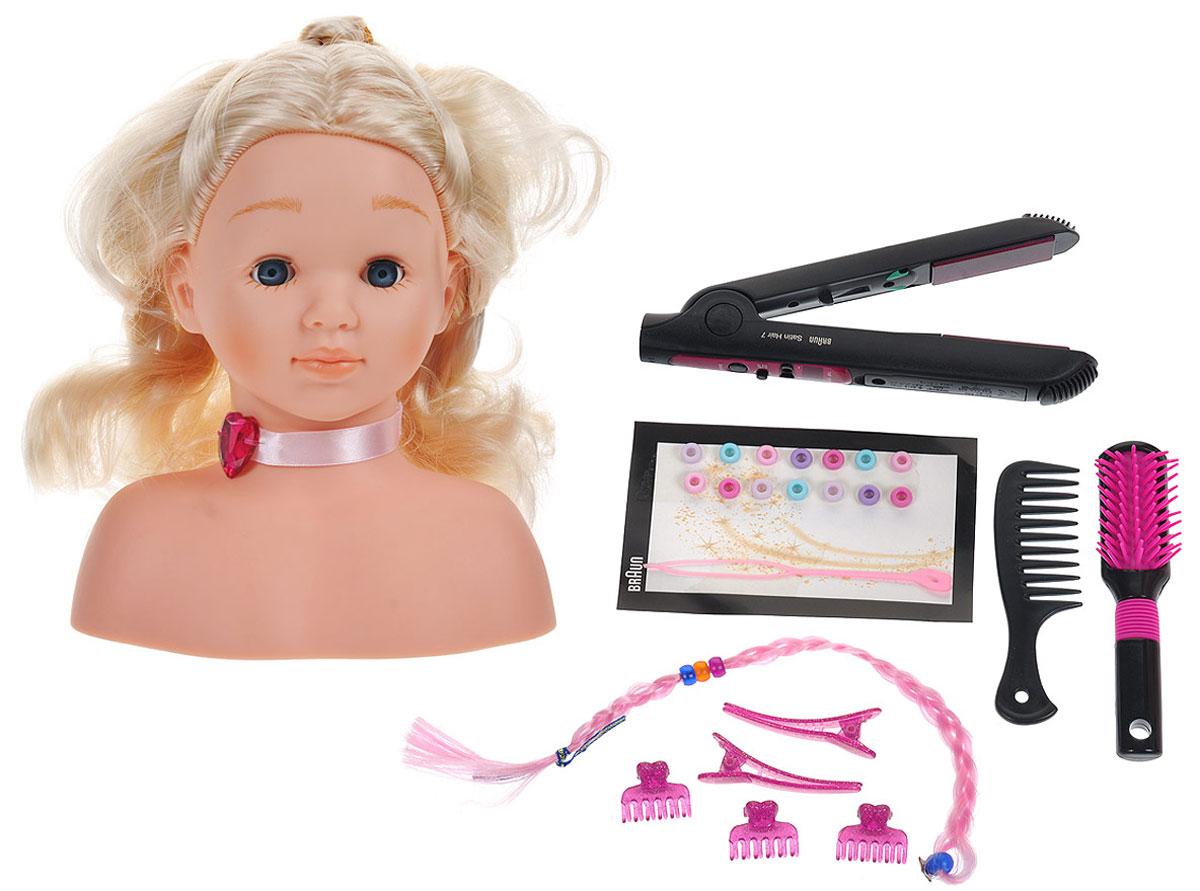 Klein Игровой набор Braun Satin Hair 7 Модель для причесок klein игровой набор модель для причесок 33см