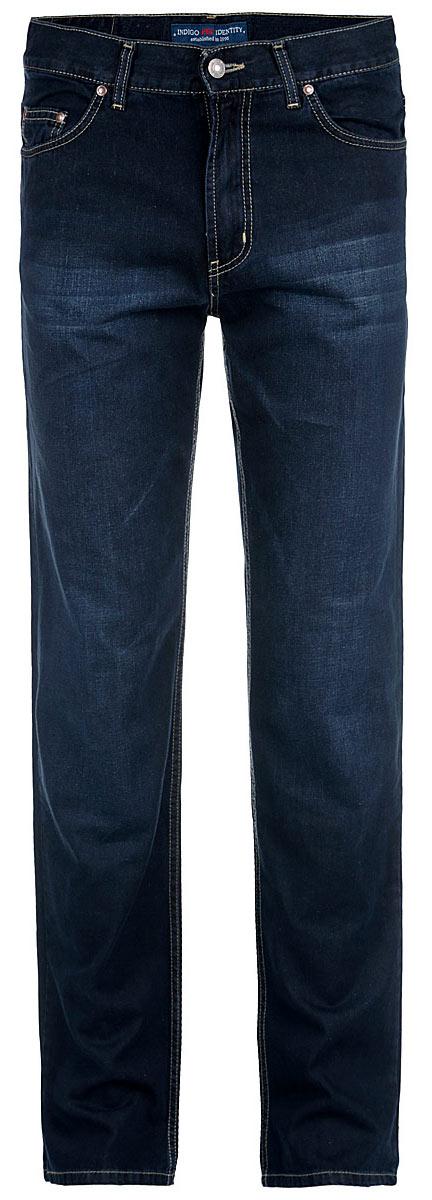 Джинсы мужские F5, цвет: нави. 0965. DP AS 0054, w.medium. Размер 34-34 (50-34)0965_0036 w.darkСтильные мужские джинсы F5 - джинсы высочайшего качества на каждый день, которые прекрасно сидят. Модель прямого кроя и средней посадки изготовлена из высококачественного плотного хлопка. Джинсы не сковывают движения и дарят комфорт. Изделие оформлено контрастной отстрочкой. Застегиваются джинсы на пуговицу в поясе и ширинку на молнии, имеются шлевки для ремня. Спереди модель оформлена двумя втачными карманами и одним небольшим секретным кармашком, а сзади - двумя накладными карманами. Эти модные и в тоже время комфортные джинсы послужат отличным дополнением к вашему гардеробу. В них вы всегда будете чувствовать себя уютно и комфортно.