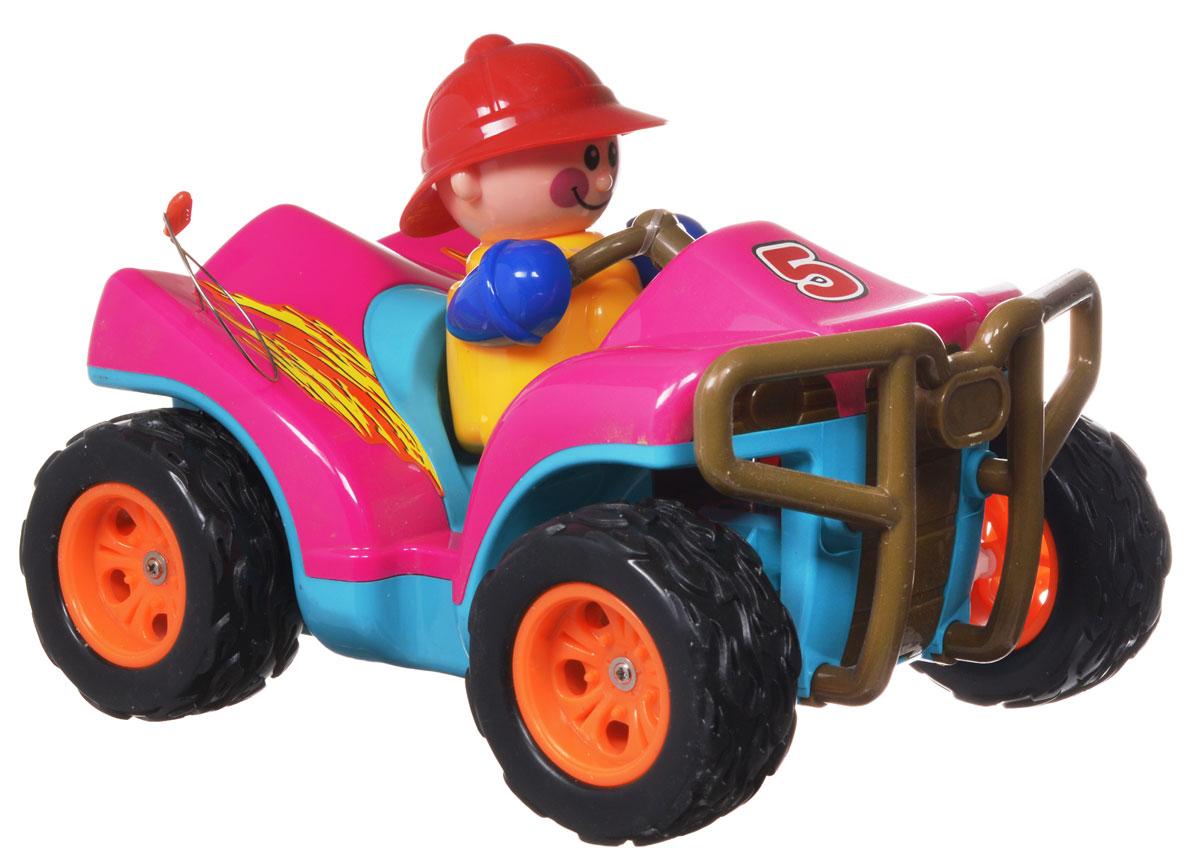 Zhorya Машинка на радиоуправлении цвет розовый - Радиоуправляемые игрушки
