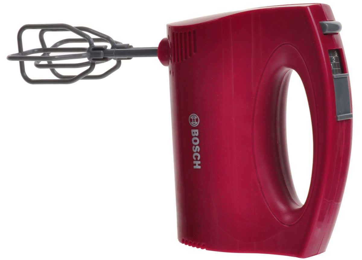 Klein Игрушка Миксер Bosch, цвет: красный миксер bosch mfq 36480