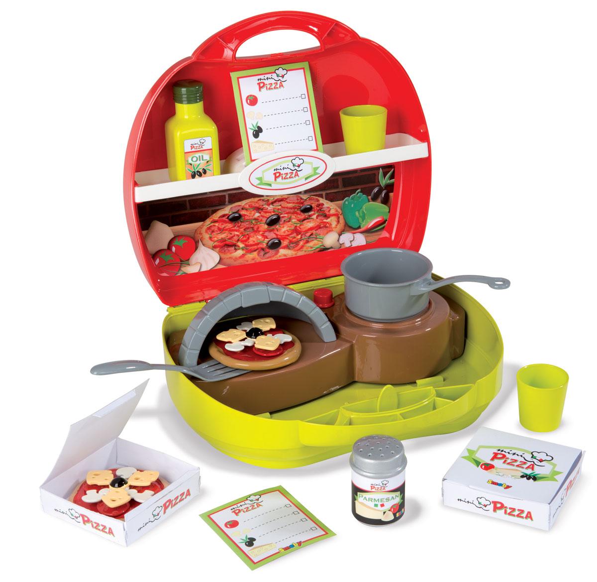 Smoby Игровой набор Мини-кухня Пицца кухня игрушечная smoby smoby детская кухня для девочек minnie мини