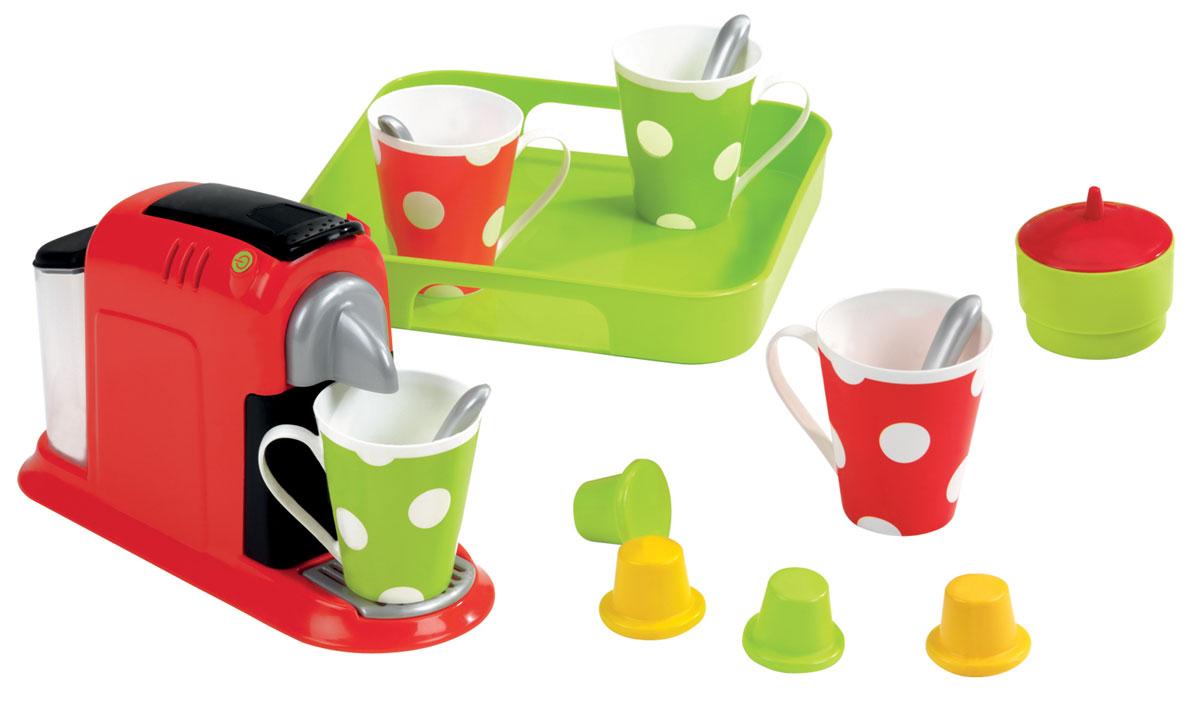 Ecoiffier Игровой набор Эспрессо écoiffier тележка для уборки с пылесосом ecoiffier