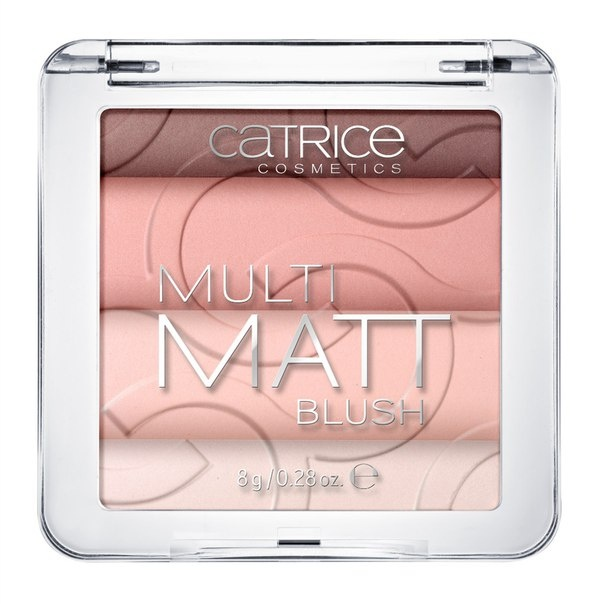 CATRICE Румяна Multi Matt Blush 010 Love, Rosie!, 8гр yoursfs heart necklace for mother s day with round austria crystal gift 18k white gold plated