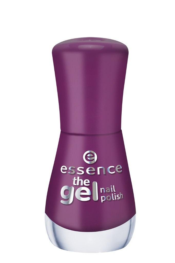 essence Лак для ногтей The gel nail пурпурный т.52, 8мл54171Лак для ногтей Gel Nail Polish, который совмещает в себе легкость нанесения и стойкий результат. Он на 60% превосходит по стойкости обычный лак для ногтей, дает максимальную защиту от сколов, длительный блеск, в то же время наносится так же легко, как и обычный лак, не требуя применения светодиодной или ультрафиолетовой лампы, а также легко удаляется с помощью жидкости для снятия лака.Инновационная технология с использованием ультратонких пигментов дает более интенсивный и стойкий цвет в сочетании с безупречным глянцевым блеском. Новые лаки для ногтей должны использоваться в сочетании с базовым слоем и верхним покрытием, все вместе давая отличный результат.Просто нанесите на ногти базовый слой и дайте ему полностью высохнуть, затем покрасьте ногти гелем для ногтей желаемого оттенка и тоже тщательно просушите. После этого нанесите верхнее защитное покрытие, и наслаждайтесь результатом! Легко удаляется с помощью обычного средства для снятия лака.Новые лаки для ногтей Essence Gel Nail Polish выпускаются в 46 оттенках с различными видами финишей — матовым, сатиновый, желе, мерцающий, переливающийся.Специально разработанная формула делает лак невероятно стойким и обеспечивает гелевый блеск маникюру. Инновационная технология делает цвет лака насыщенным, а нанесение легким и быстрым.