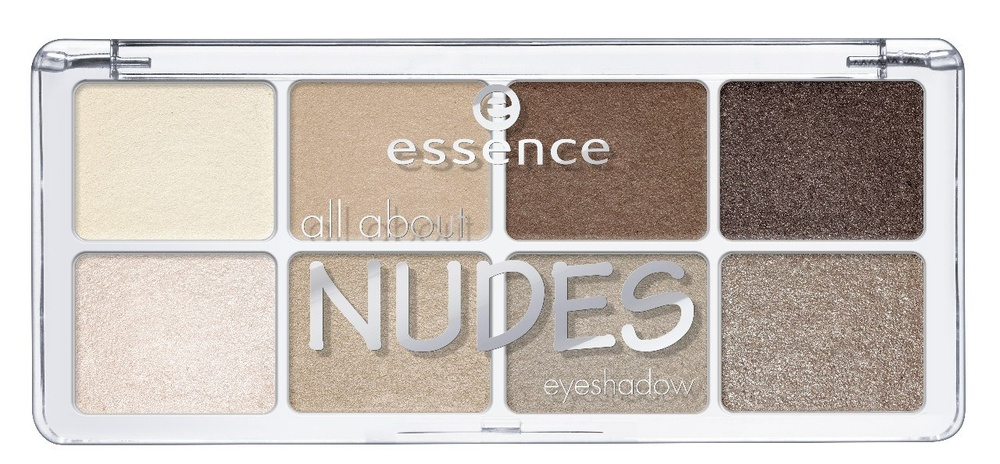 essence Тени для век all about NEW nudes т.02, 9,5гр тени для век essence all about … eyeshadow palettes 06 цвет 06 toffee variant hex name c6a8a6