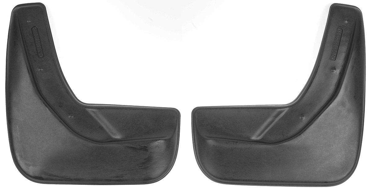 Комплект задних брызговиков L.Locker, для Ford Explorer V (10-), 2 шт7002092261Комплект L.Locker состоит из 2 задних брызговиков, изготовленных из высококачественного полиуретана. Уникальный состав брызговиков допускает их эксплуатацию в широком диапазоне температур: от -50°С до +50°С. Изделия эффективно защищают кузов автомобиля от грязи и воды, формируют аэродинамический поток воздуха, создаваемый при движении вокруг кузова таким образом, чтобы максимально уменьшить образование грязевой измороси, оседающей на автомобиле. Разработаны индивидуально для каждой модели автомобиля. С эстетической точки зрения брызговики являются завершением колесных арок.Установка брызговиков достаточно быстрая. В комплект входят необходимые крепежи и инструкция на русском языке. Комплектация: 2 шт.Размер брызговика: 29 см х 31,5 см х 3 см.