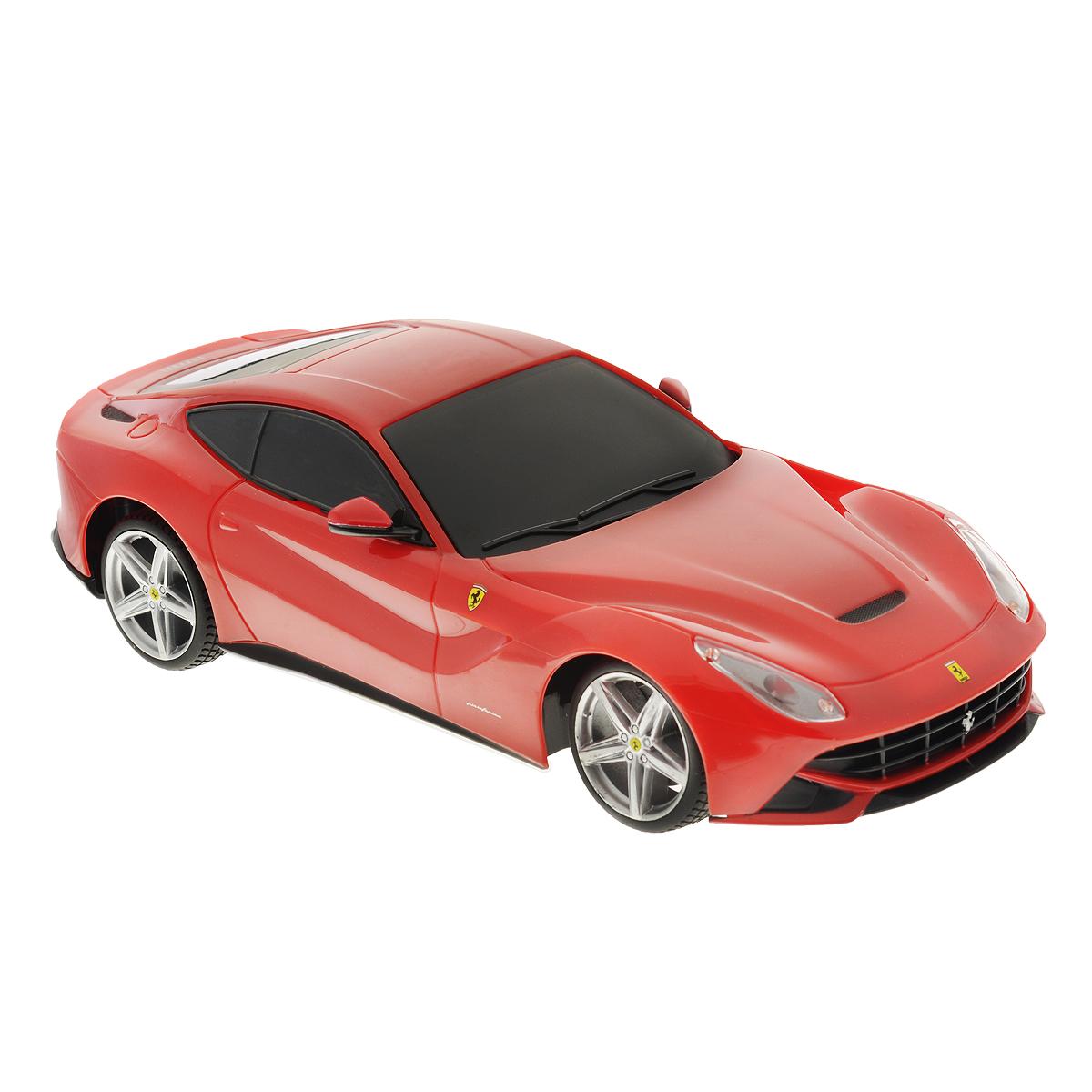 maisto радиоуправляемая модель volkswagen beetle цвет желтый Maisto Радиоуправляемая модель Ferrari F12 Berlinetta цвет красный масштаб 1:24