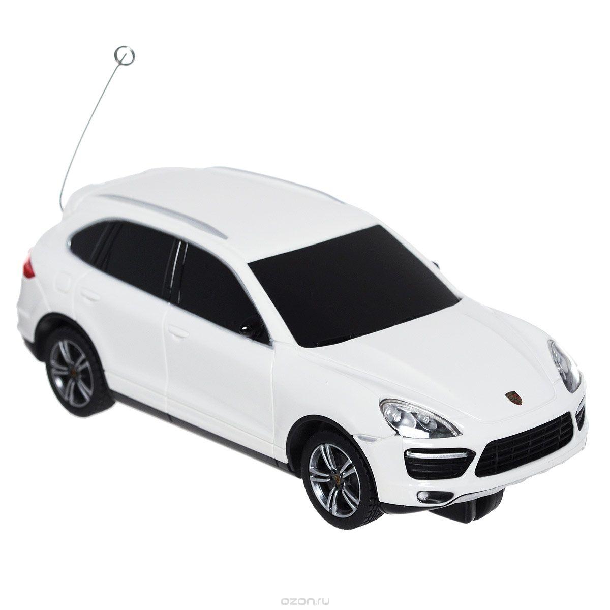Rastar Радиоуправляемая модель Porsche Cayenne цвет белый rastar радиоуправляемая модель porsche cayenne turbo цвет белый масштаб 1 14