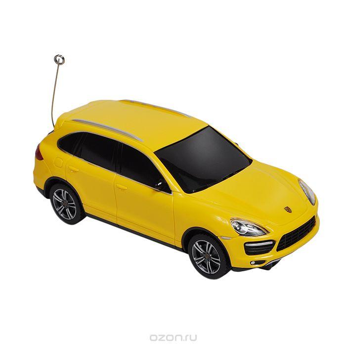 Rastar Радиоуправляемая модель Porsche Cayenne цвет желтый