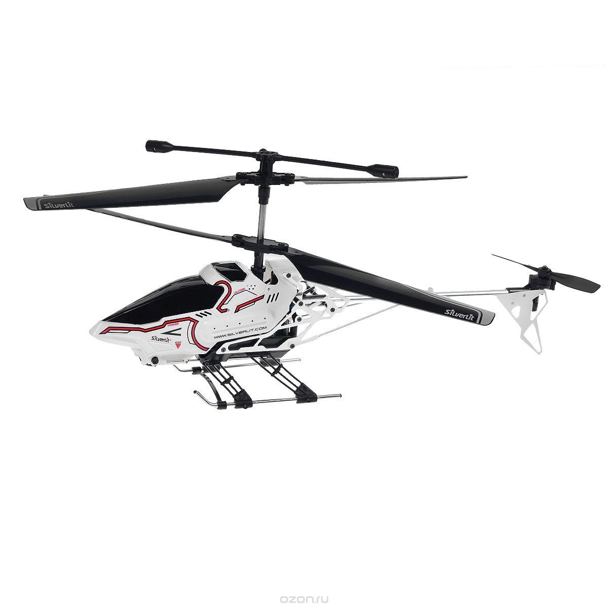 Silverlit Вертолет на радиоуправлении Sky Eye цвет белый самолеты и вертолеты silverlit вертолет 3 х канальный heli sniper 2 со стрелами зеленый