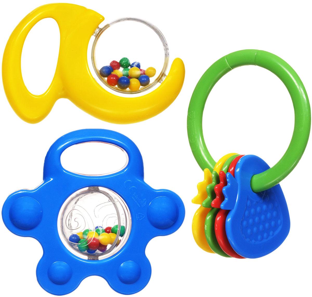 Simba Набор погремушек 3 шт набор игрушек погремушек малышарики 10 шт