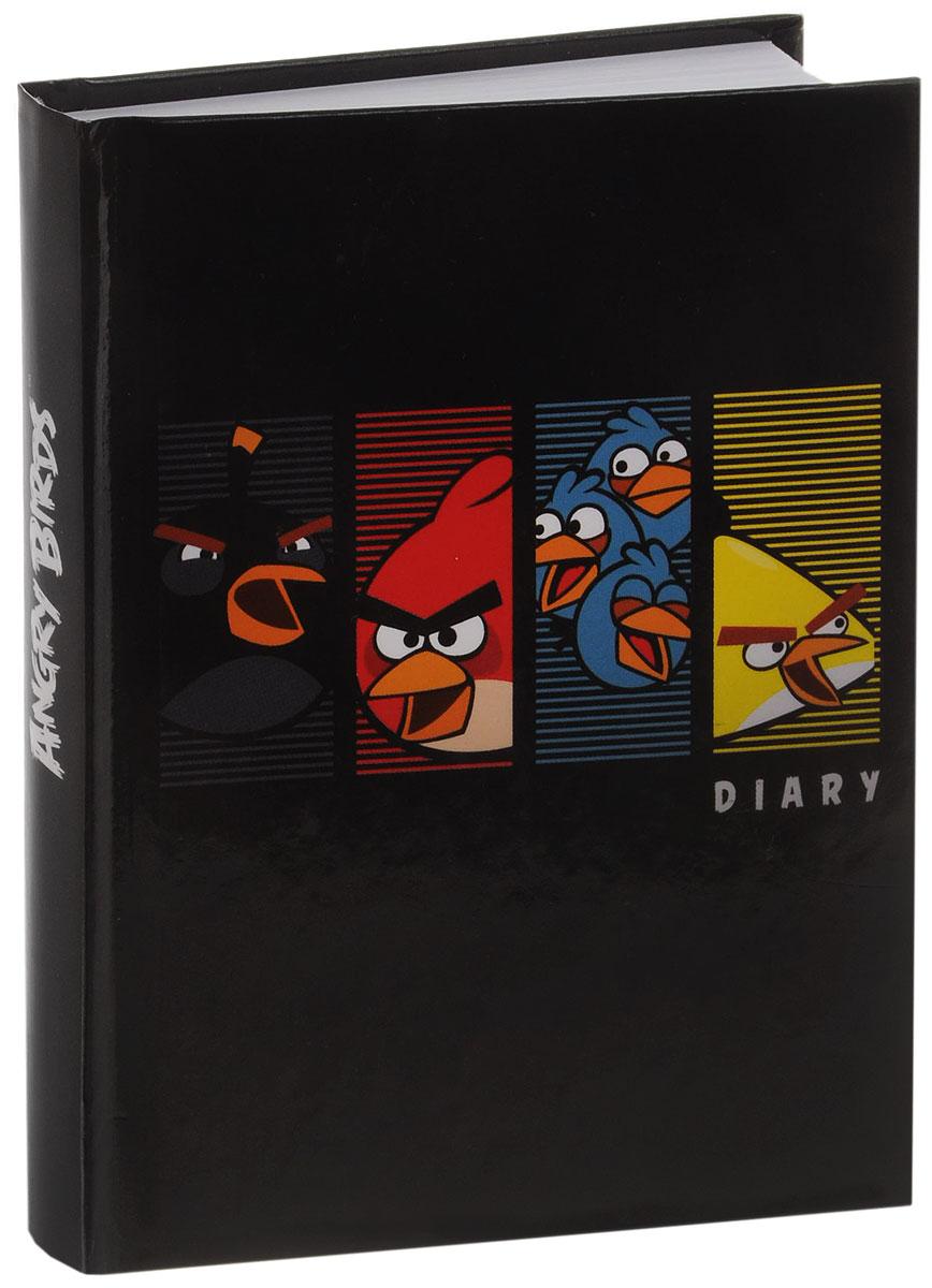 Hatber Ежедневник Angry Birds недатированный 160 листов160Ед6_10732Недатированный ежедневник Hatber - неотъемлемый атрибут любого современного делового человека. Настольный ежедневник позволит систематизировать входящую информацию и оптимизировать график встреч, не отходя от рабочего места. Прочная обложка и качественный твердый переплет обеспечивают защиту внутреннему блоку, придают яркость и насыщенность дизайну. Внутренний блок изготовлен из белой бумаги и представлен листами, размеченными в линейку. Недатированный блок ежедневника не ограничен по сроку годности, его можно использовать на протяжении нескольких лет без привязки к году. В начале изделия содержится информационный блок, включающий телефонные и буквенные коды, государственные праздники, единицы измерений, часовые пояса, расчет калорий, размеры одежды и расшифровку штрих-кодов. В конце блока отведено место для записи телефонных номеров. Ежедневник надежно скреплен сшитым переплетом. Ежедневник Hatber станет стильным и практичным аксессуаром, и займет достойное место на вашем рабочем столе.