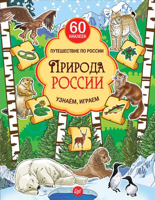 Природа России. Узнаём, играем (+ многоразовые наклейки) питер народы россии узнаём играем многоразовые наклейки