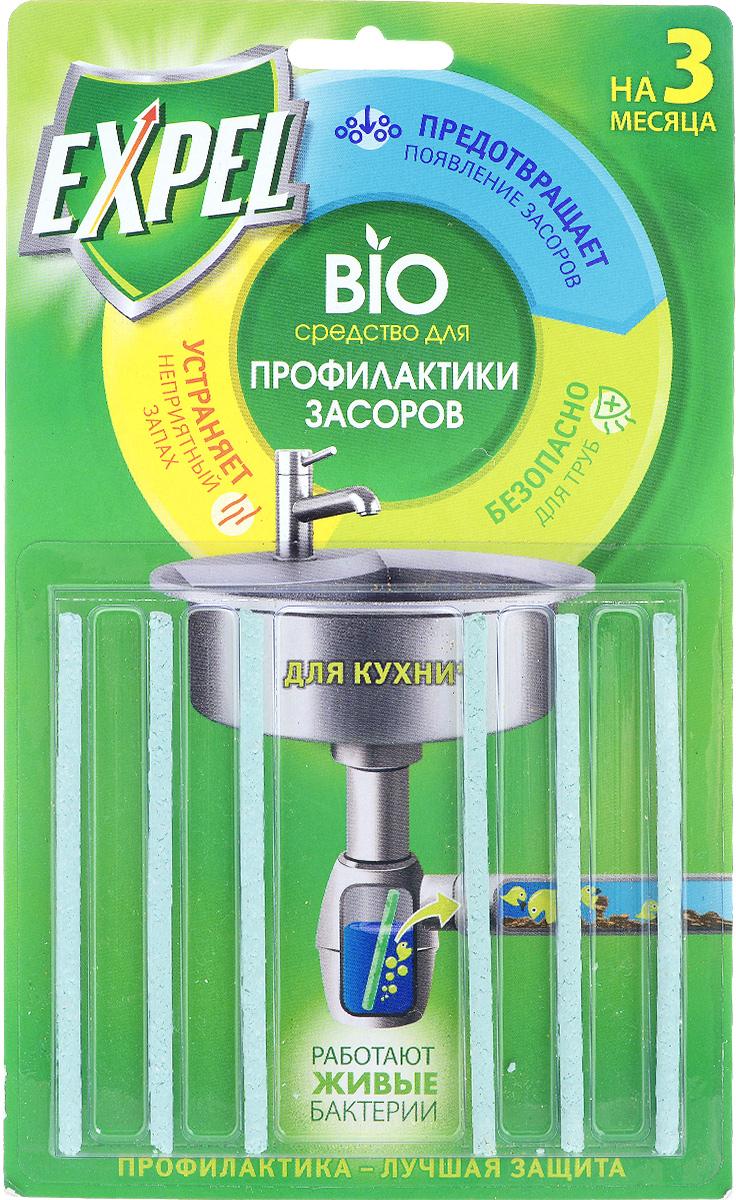 Bio средство для профилактики засоров Expel, для кухни, 6 шт38590403Bio средство для профилактики засоров Expel -высокоэффективная профилактики засоров и уменьшения неприятного запаха из раковины.Попадая в сифон, палочка постепенно растворяется в токе воды в течение 2-х недель, непрерывно высвобождая специально подобранные энзимы и культуры бактерий. Биокомпоненты перерабатывают пищевые отходы, препятствуя накоплению на стенках труб. Дозировка: по 1 палочке каждые 2 недели.Состав: =30%: полимерный носитель.Товар сертифицирован.