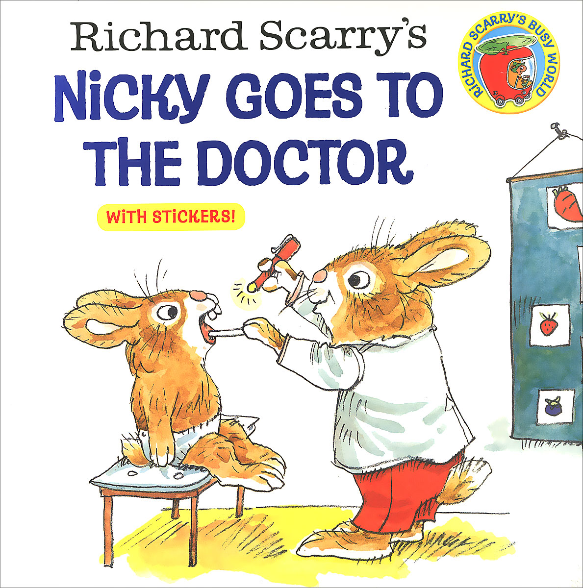 Richard Scarry's Nicky Goes to the Doctor peppa goes to the library