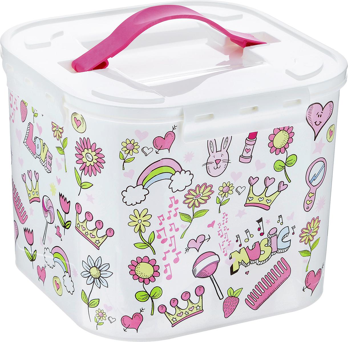 Контейнер для хранения Idea Фанни, 7 л контейнер для хранения idea ягоды 10 л