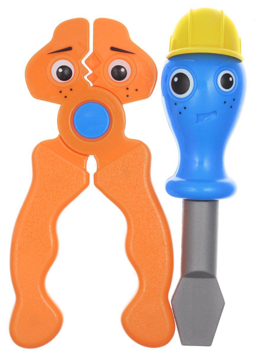 1TOY Игровой набор Профи-малыш цвет оранжевый