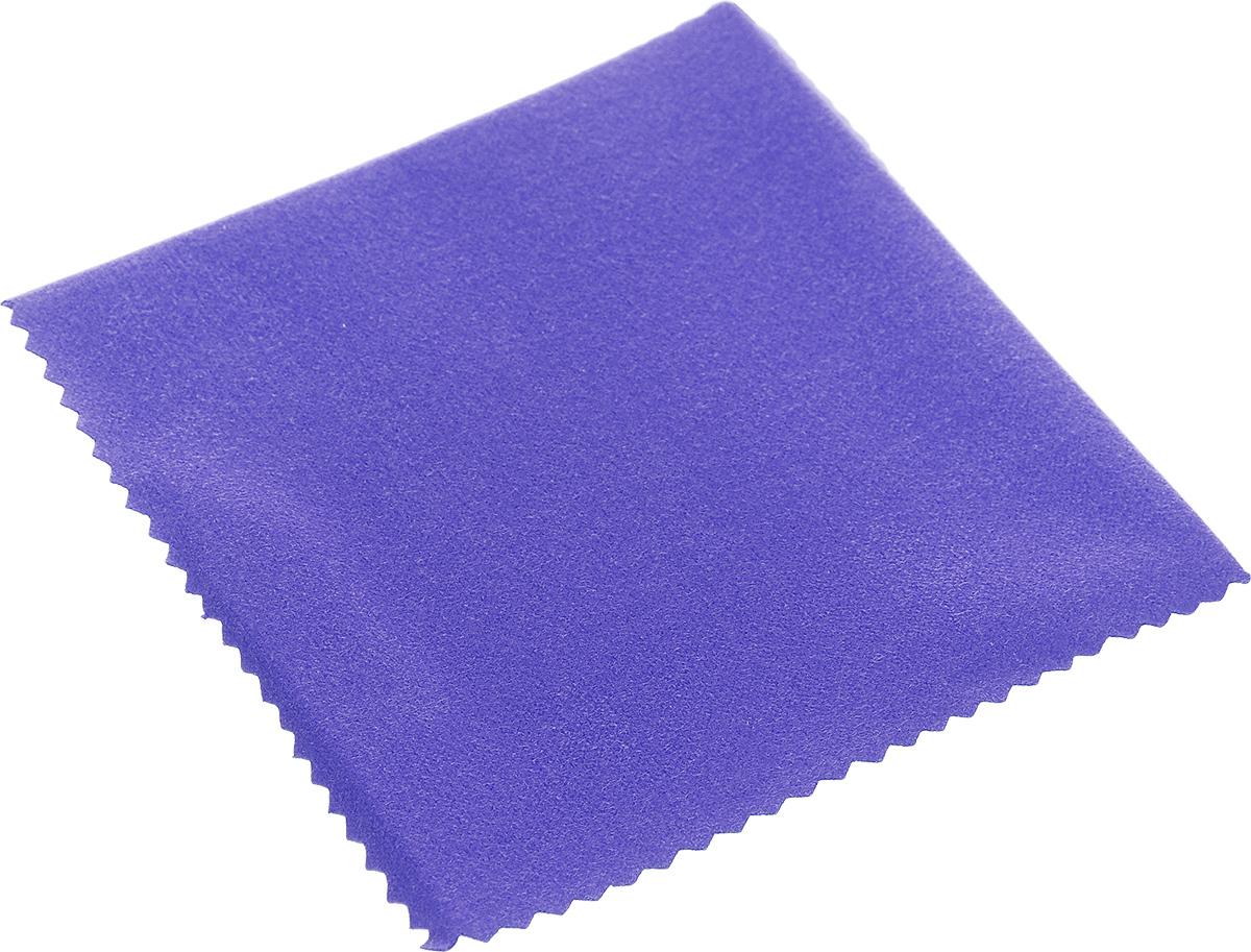 """Салфетка """"Talisman"""", изготовленная из высококачественного   текстиля, предназначена для полировки и придания зеркального   блеска ювелирным украшениям из серебра. Идеальна для   применения в домашних условиях. Не предназначена для стирки.  Размер: 10 см х 10 см.    Как выбрать качественную бытовую химию, безопасную для природы и людей. Статья OZON Гид"""