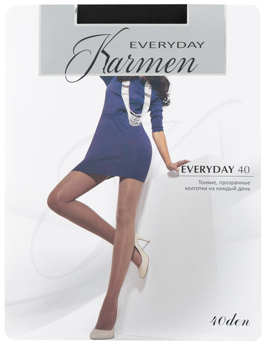 Колготки Karmen Everyday 40, цвет: Nero (черный). Размер 2 (44) larsen karmen