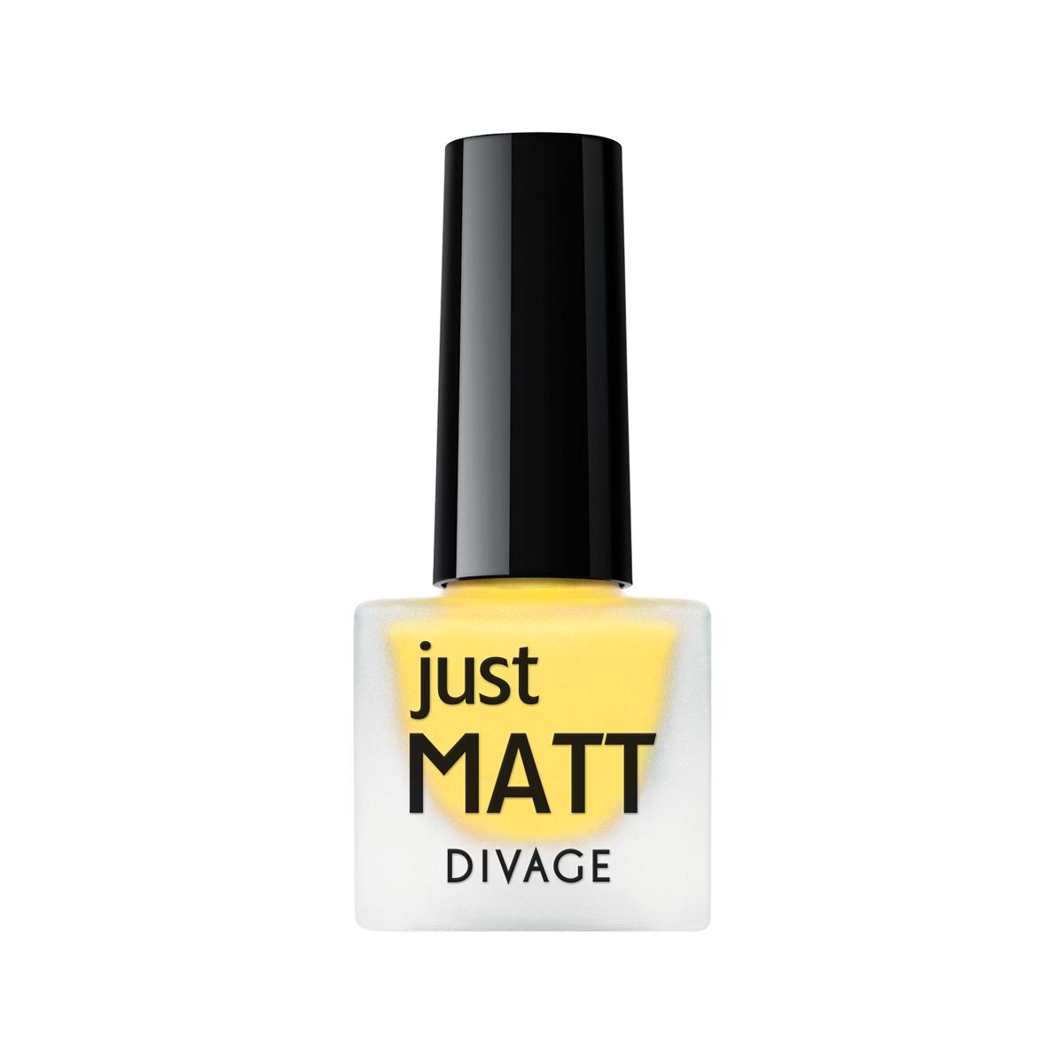 DIVAGE Лак для ногтей JUST MATT, тон № 5623, 7 мл004382Легкая мягкая текстура лака позволяет выполнить маникюр с эффектом матового покрытия. Настоящая бархатная фантазия для твоего образа. Лак выравнивает неровности ногтевой пластины и позволяет создать идеальный маникюр с насыщенным цветом в один слой. Коллекция постоянно дополняется и обновляется новыми актуальными цветами. С оттенками коллекции JUST MATT легко воплотить в жизнь различные nail-дизайны, и каждый раз ваш маникюр будет смотреться стильно и по-новому! Легкая мягкая текстура лака позволяет выполнить маникюр с эффектом матового покрытия. Настоящая бархатная фантазия для твоего образа. Лак выравнивает неровности ногтевой пластины и позволяет создать идеальный маникюр с насыщенным цветом в один слой. Коллекция постоянно дополняется и обновляется новыми актуальными цветами.