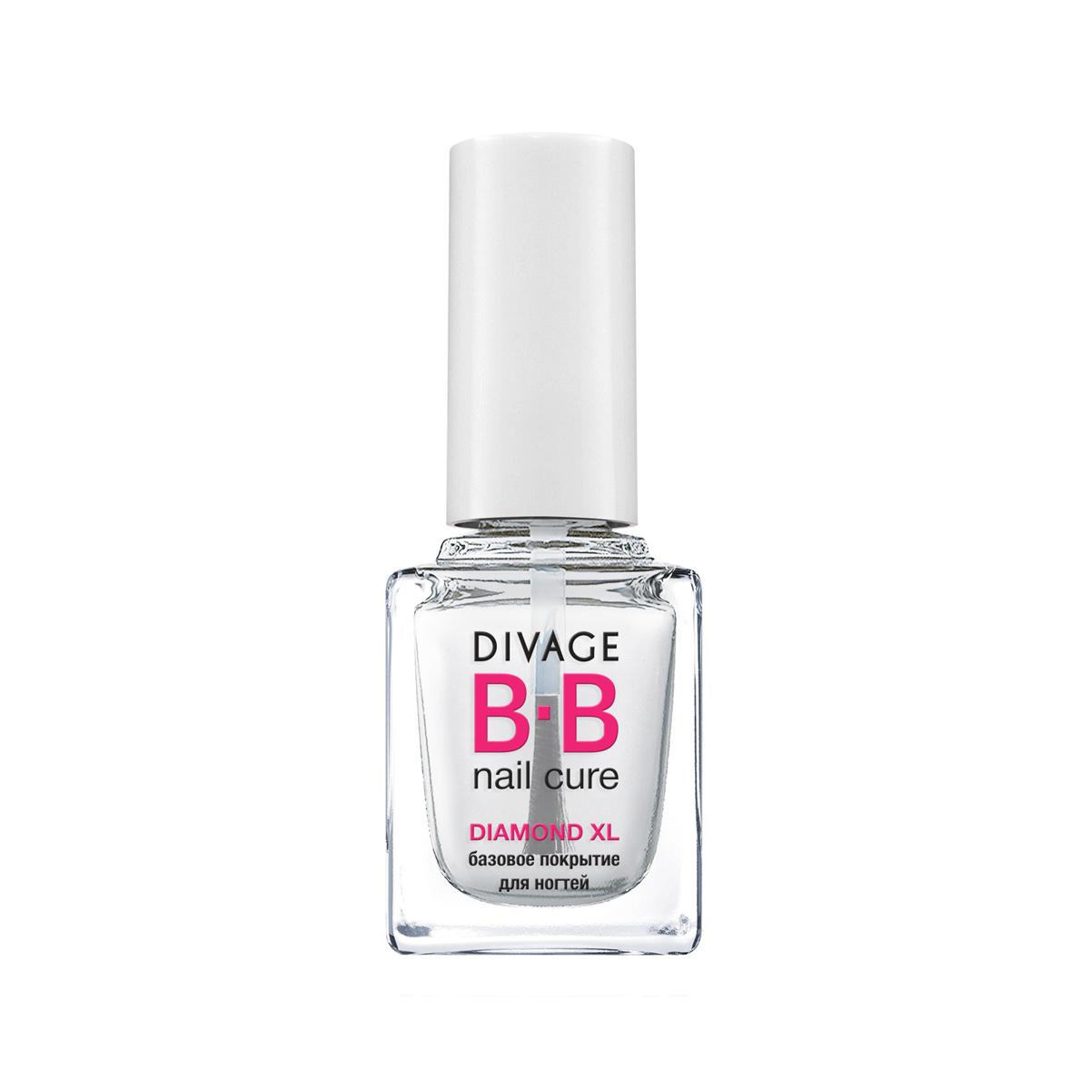 "DIVAGE BB NAIL CURE Базовое покрытие для ногтей ""DIAMOND XL"", 12 мл"