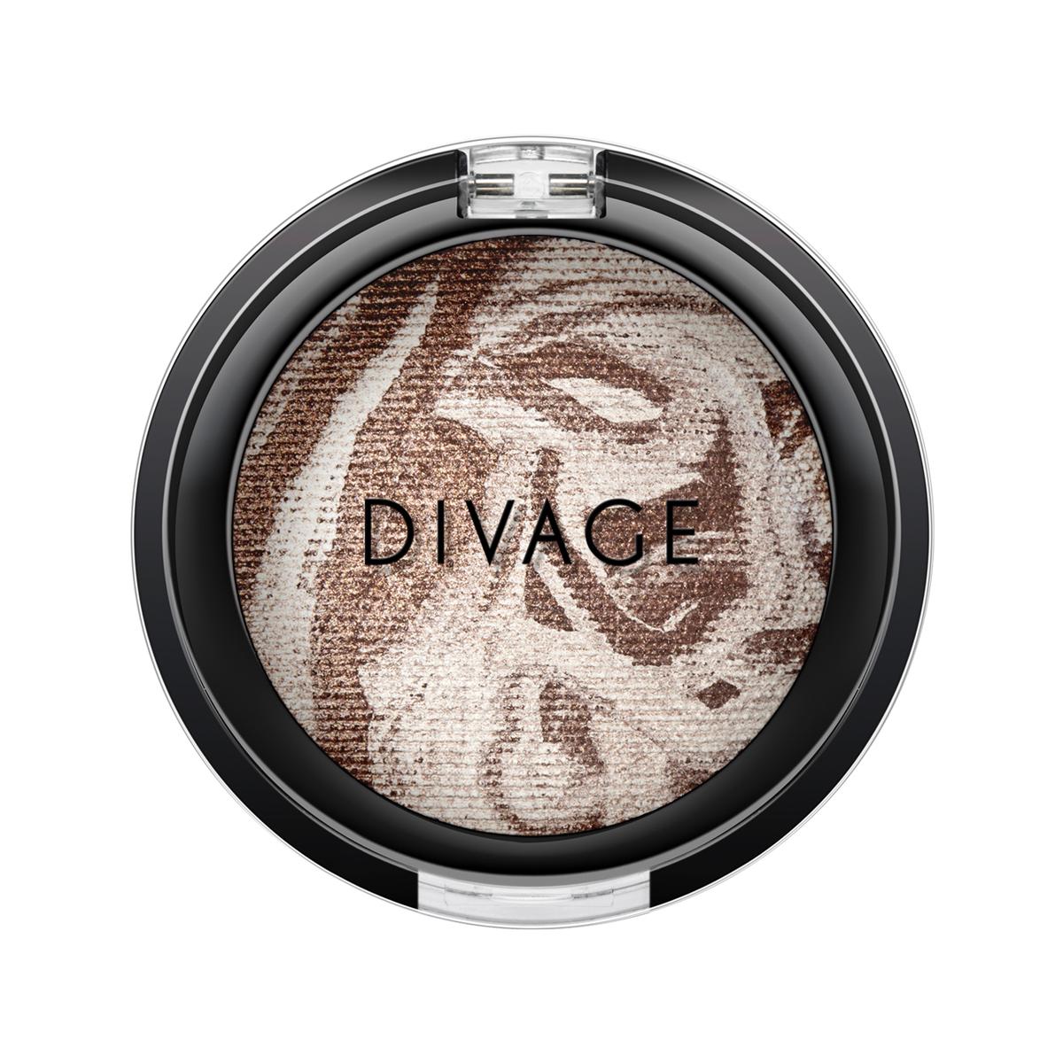 DIVAGE Запечённые тени для век COLOUR SPHERE, тон № 17, 3 гр.02-1159-000007Энергия цвета для вашего макияжа.Трёхцветные мраморные оттенки с восхитительным блеском! Миксовые цвета при нанесении раскрываются богатой палитрой, подчёркивая выразительность взгляда. Мягкая микро-пудра, входящая в состав теней, увеличивает стойкость, что позволяет макияжу сохраняться в течение всего дня, не осыпаясь и не размазываясь. Тени можно наносить как сухим аппликатором для создания нежного сияния, так и влажным методом для придания макияжу яркого металлического блеска. Высокая концентрация цветовых пигментов помогает оставаться цвету насыщенным даже спустя 8 часов. Энергия цвета заряжает на весь день с тенями COLOUR SPHERE от DIVAGE!СОВЕТ DIVAGE: Используя тени для макияжа глаз от DIVAGE, ты легко можешь меняться каждый день, создавая различные образы. Но как выбрать свой оттенок в таком многообразии? Выбирай контрастные оттенки тенейк твоему цвету глаз. Карие глаза хорошо подчеркнут зелёные и фиолетовые оттенки, все оттенки коричневого придадут выразительности зелёным глазкам, для серых и голубых больше всего подойду оттенки кораллового, золотого ирозового. С макияжем выполненным тенями DIVAGE твой взгляд будет ещё притягательней!