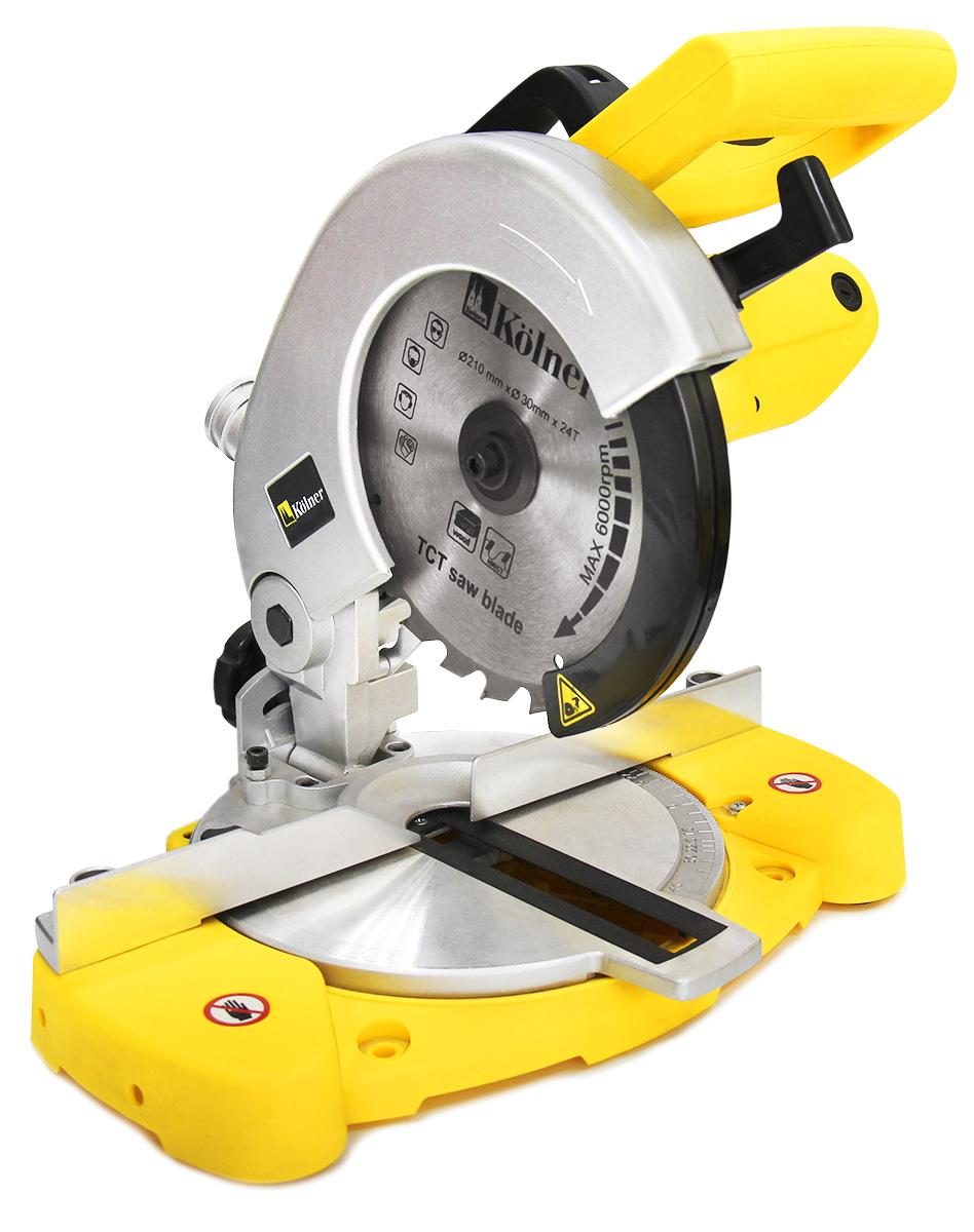 Пила торцевая Kolner  KMS 210/1400  - Электроинструменты
