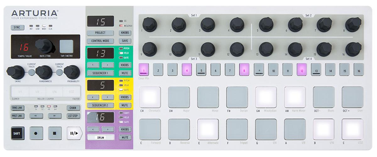 Arturia BeatStep Pro MIDI-контроллер 330mhz 8 dip switch 5326 auto gate duplicate remote control