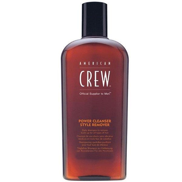 American Crew Шампунь для ежедневного ухода, очищающий волосы от укладочных средств Classic Power Cleanser Style Remover 250 мл7206906000Шампунь для ежедневного ухода, очищающий волосы от укладочных средств прекрасно подходит для волос, которые часто подвергаются воздействию укладочных средств. Данный продукт имеет сразу несколько достоинств. Шампунь American Crew способствует усилению здорового блеска волос, хорошо увлажняет волосы, замечательно питает их полезными растительными экстрактами, что способствует восстановлению структуры повреждённых волос и благоприятно влияет на кожу головы. Шампунь Американ Крю придаёт волосам живой объём, шелковистость и мягкость, защищает их от вредных воздействий внешних факторов. Шампунь Американ Крю Power Cleanser подходит для всех типов волос и ежедневного ухода, отлично тонизирует и освежает.