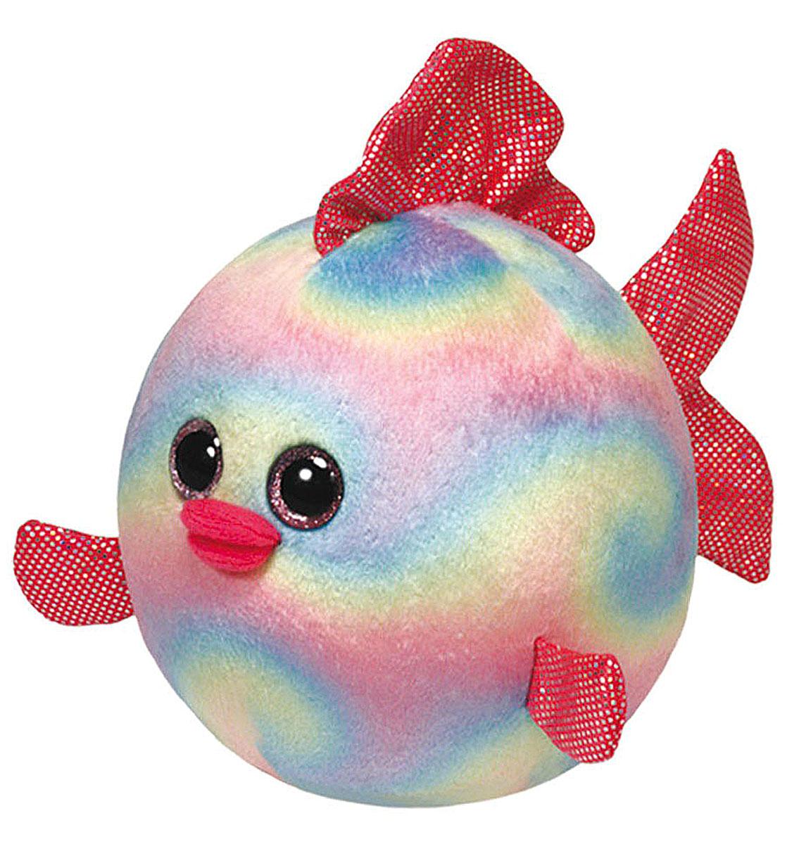 TY Мягкая игрушка Рыбка Rainbow 10 см