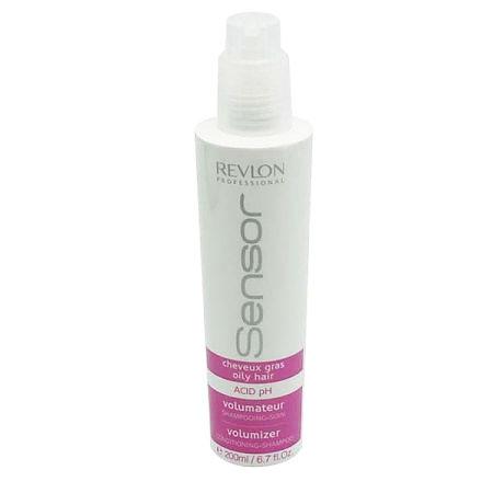 Revlon Senso Шампунь-кондиционер для придания объема для волос склонных к жирности (Сиреневый) r Volumizer Conditioning-Shampoo 200 мл7205874000Средство полноценного ухода за волосами, склонными к жирности. Шампунь дарит волосам объем и мягкость. Кондиционирующий эффект увлажняет волосы, очищает их от излишков кожного жира, дарит блеск и силу. Не дает волосам накапливать жир в прикорневой зоне. Волосы легкие, свежие и мягкие.