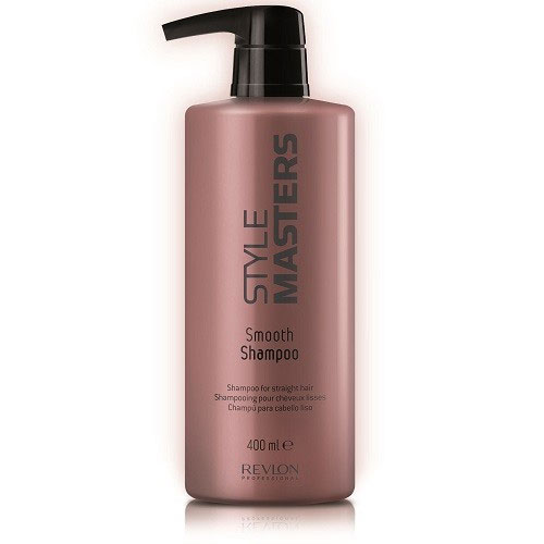 Revlon Professional Style Шампунь для гладкости волос Masters Smooth Shampoo 400 мл7207630000Revlon Professional Style Masters Smooth Shampoo Шампунь для гладкости волос создан и разработан для активного и тщательного ухода за прямыми волосами. Данный продукт от компании Revlon Professional отлично способствует увлажнению волос, придавая им отличный объём и естественный натуральный блеск. Специальные активные компоненты, входящие в состав шампуня Ревлон Style Masters Smooth тщательно и надёжно защищают волосы от агрессивного воздействия окружающей среды и солнца, обеспечивают правильное питание волос и кожи головы, быстро устраняют такую проблему, как спутывание волос. Шампунь для гладкости волос Revlon Professional наделяет волосы здоровьем и дарит им гладкость, прекрасное сияние и жизненную энергию. Шампунь для гладкости волос Revlon Профессионал Style Masters быстро и легко справится с самыми непослушными и проблемными волосами.