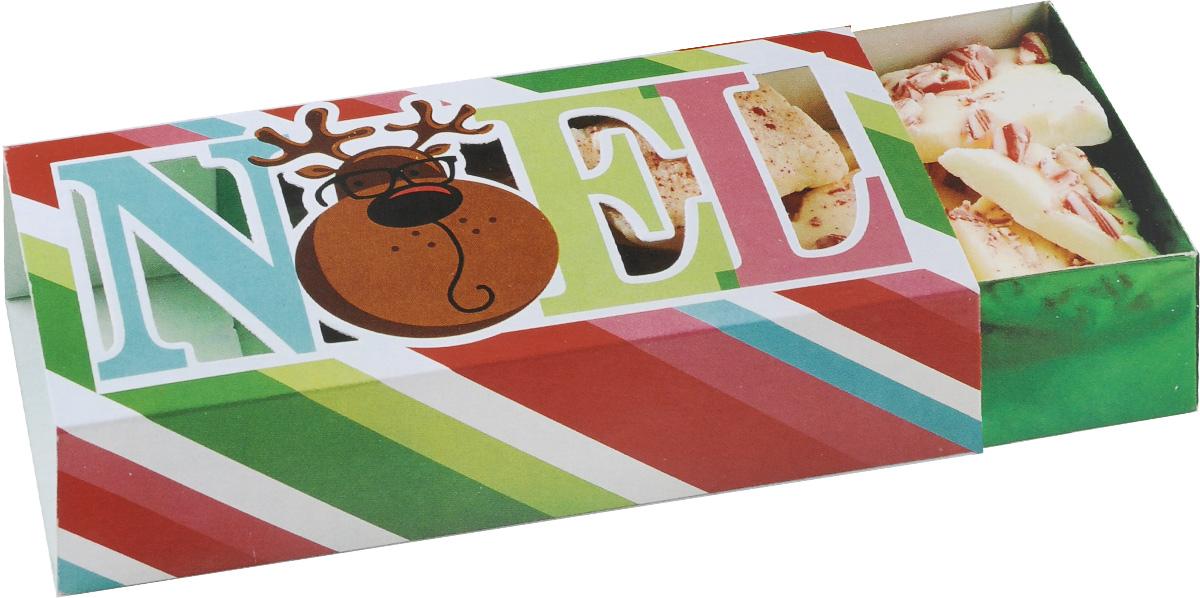 Набор раздвижных коробок для сладостей Wilton Рождество, 18 х 8,5 х 5 см, 3 штWLT-415-2336Набор Wilton Рождество состоит из трех подарочных коробок, изготовленных из картона и предназначенных для упаковки кондитерских изделий. Каждая коробочка оснащена небольшим окошком, благодаря которому можно видеть содержимое.Коробка Wilton Рождество - идеальная подарочная упаковка для вашего сладкого подарка. Просто поместите внутрь пирожное, и удивительно красивый и вкусный подарок готов! Набор также подходит для транспортировки кондитерских изделий. Размер коробки: 18 х 8,5 х 5 см.