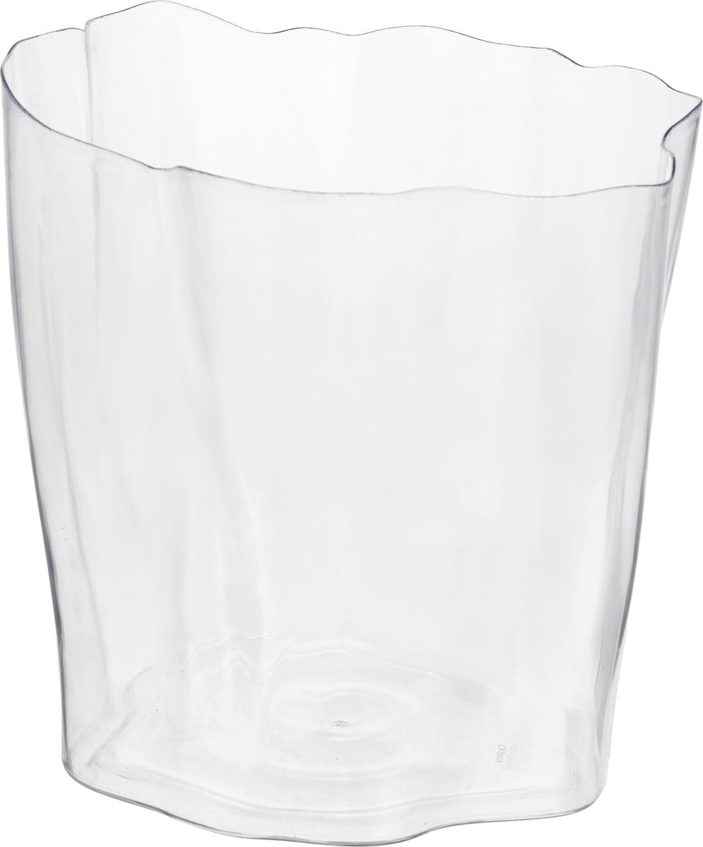 Органайзер Qualy Flow, цвет: прозрачный, 26 х 25 х 29 смQL10162-CLОрганайзер Qualy Flow может пригодиться на кухне, в ванной, в гостиной, на даче, на природе, в городе, в деревне. В него можно складывать фрукты, овощи, кухонные приборы и аксессуары, всевозможные баночки, можно использовать органайзер как мусорную корзину, вазу. Все зависит от вашей фантазии и от хозяйственных потребностей! Пластиковый оригинальный органайзер пригодится везде!